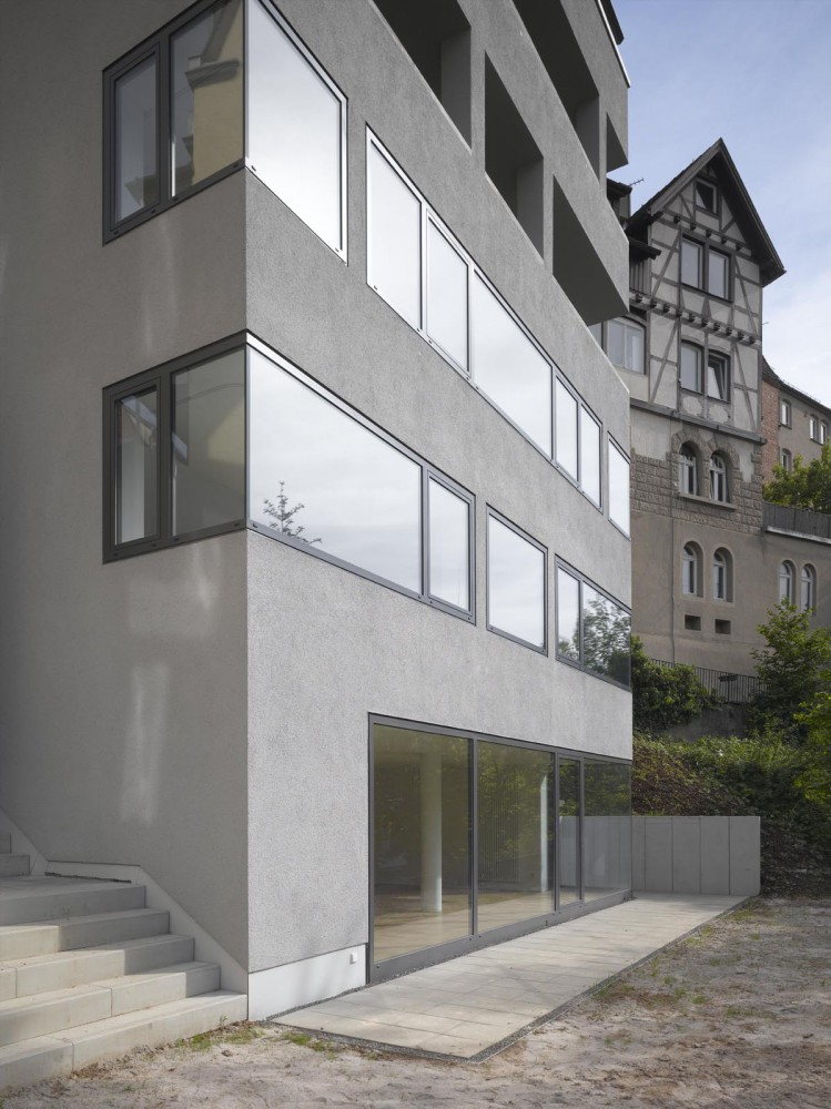 amp architekten lofthaus s5 stuttgart. Black Bedroom Furniture Sets. Home Design Ideas