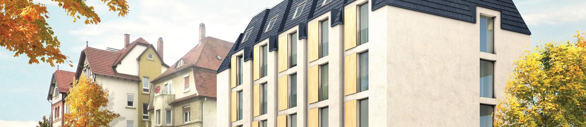 amp architekten hotel bauhofstra e ludwigsburg. Black Bedroom Furniture Sets. Home Design Ideas
